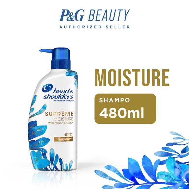 Head & Shoulders Shampoo Supreme Moisture Anti-Dandruff 480 ml
