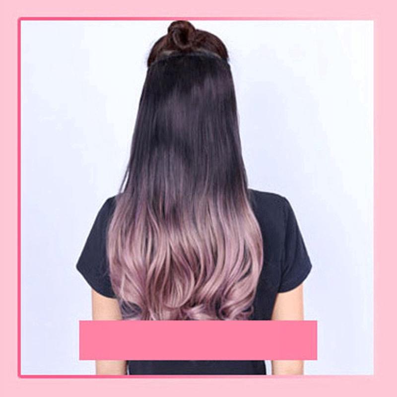 Klip Rambut Palsu Hair Extension Model Panjang Keriting Bahan Sintetis Untuk Wanita Shopee Indonesia