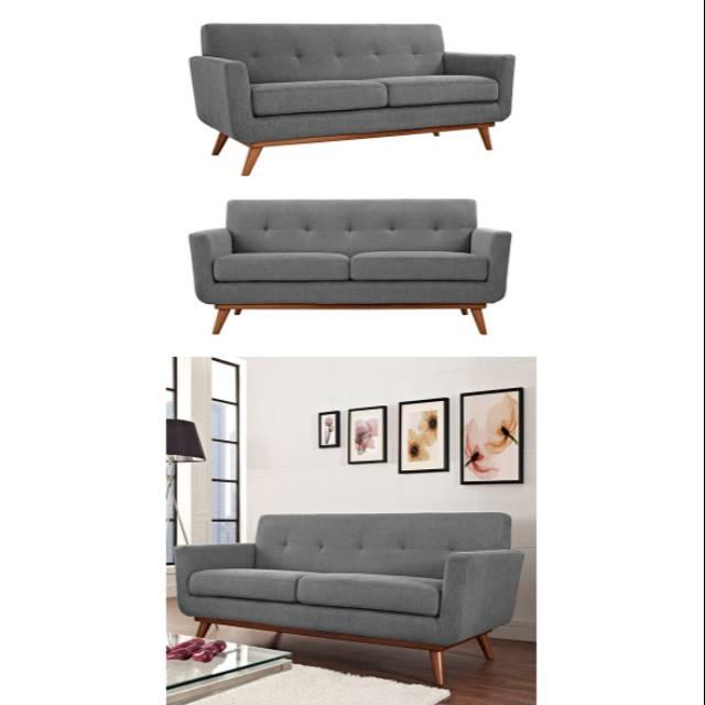 Sofa bed retro scandinavia terbaru minimalis 2 seater | Shopee Indonesia
