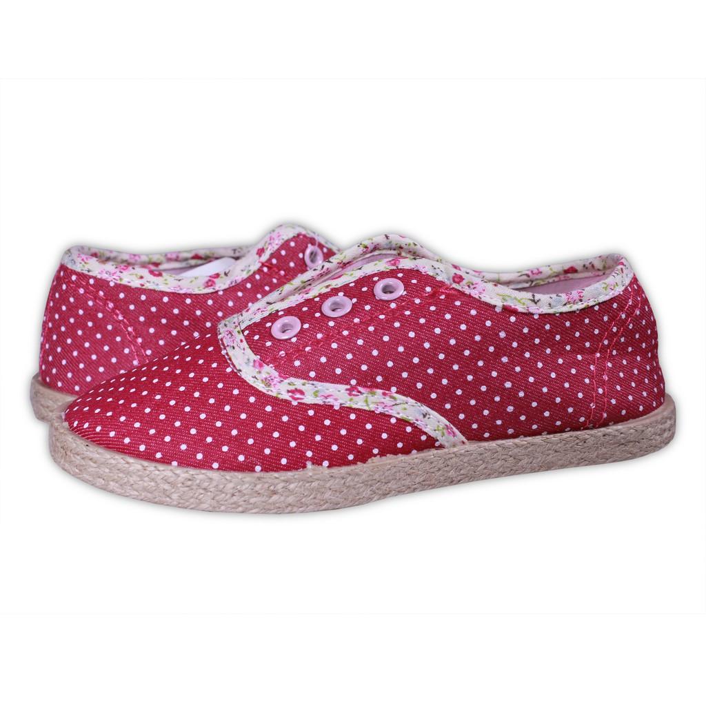 Sepatu Anak Perempuan Merk Kipper Tipe Jj 105 Slip On Flat Shoes