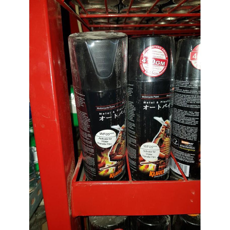 Pylok Pilox Samurai Paint Silver Metalic 1701 Cat Shopee Indonesia Obral Flat Black 109a Doff Semprot