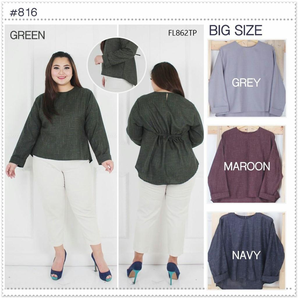HeiSook Cardigan Jumbo Outer Big Size Ukuran Besar  54c09ba319