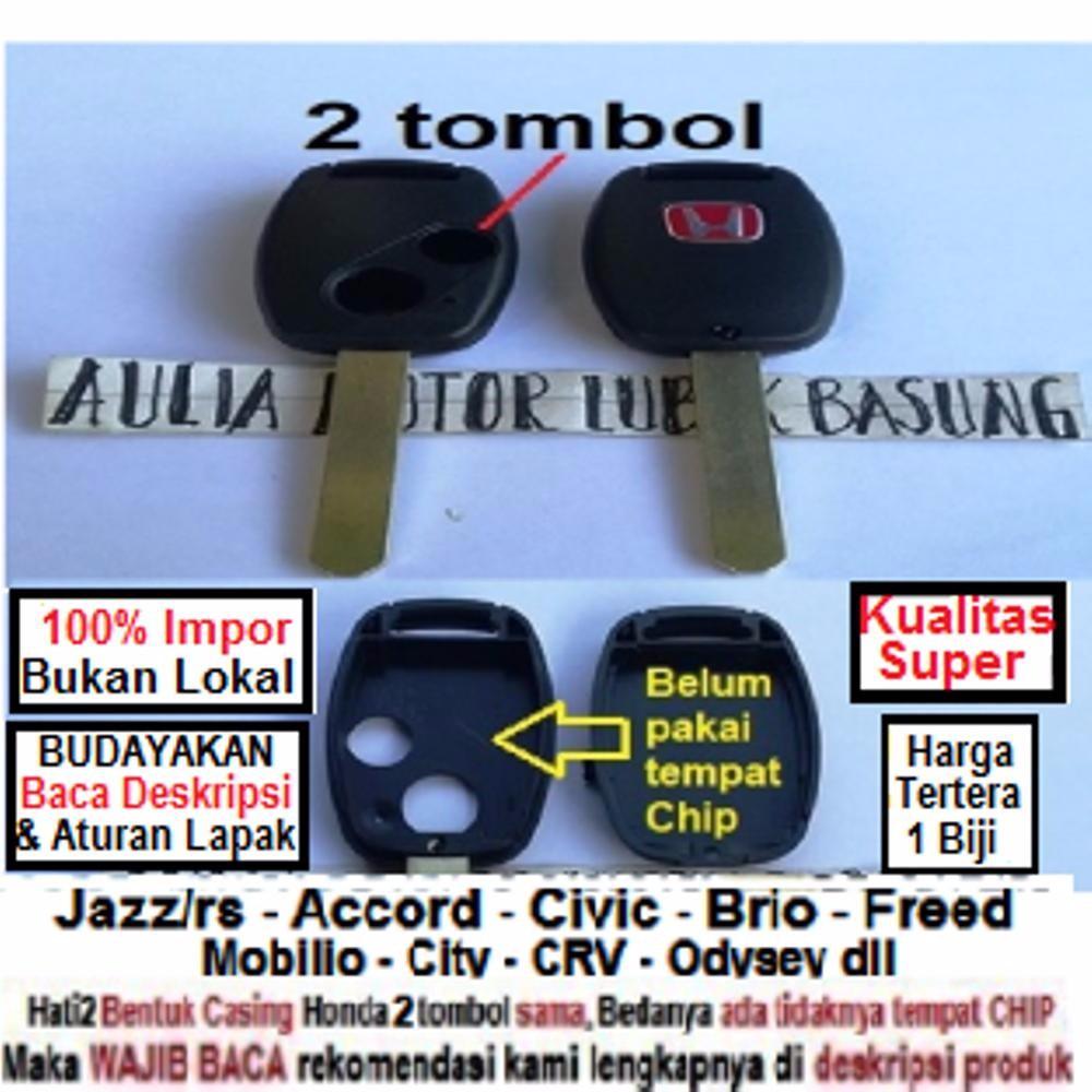 Casing Remot Remote Kunci Honda Jazz Rs Accord Civic Brio Freed Cover Lipat Flip Key Rumah Mobilio Cr V City Crv Odysey Dll 2 Tombol Shopee Indonesia