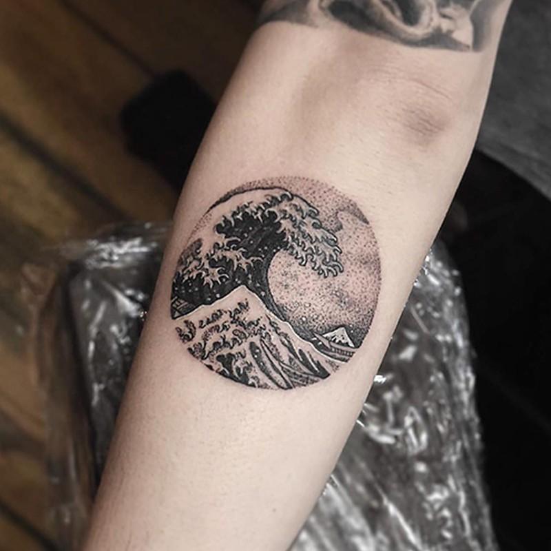 Stiker Tattoo Temporer Motif Tulisan Jepang Unisex Shopee Indonesia