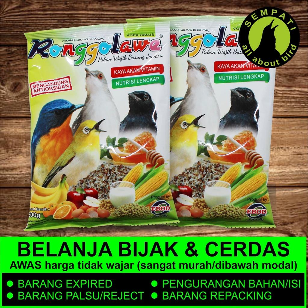 Ronggolawe Ebod Jaya Pakan Spesial Burung Pleci Oriental White Eye Shopee Indonesia