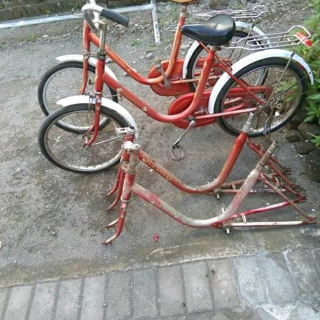 Frame Minion Ukuran 20 Dan 24 Phoenix Rangka Sepeda Minitrack Murah Shopee Indonesia