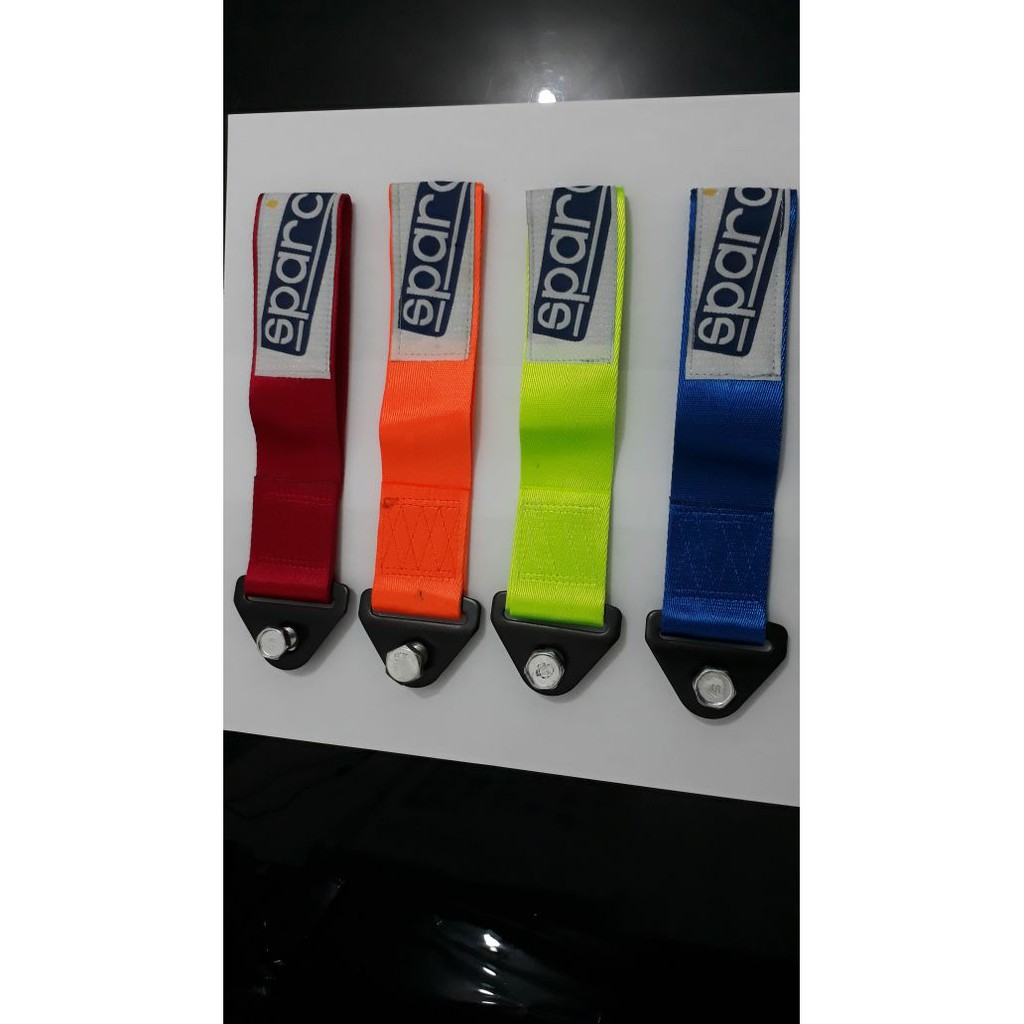 Towing Strap Kain Universal Sparco High Quality Shopee Jdm Mobil Car Ter Indonesia
