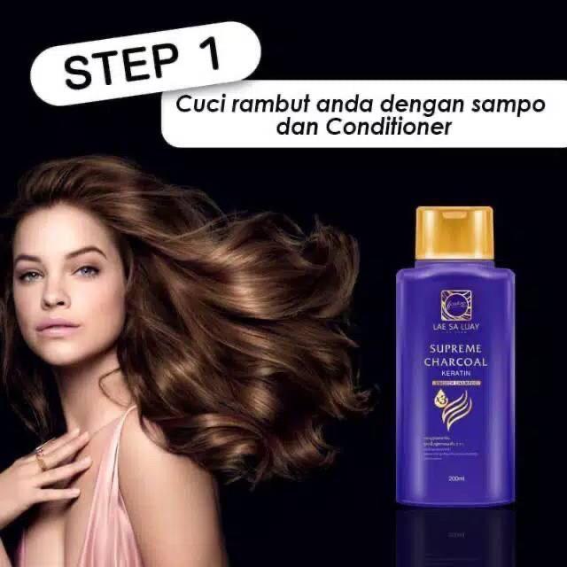Lae Sa Luay Hair Spa Smooth Keratin Masker Rambut 100% Original / Hairmask / Shampo / Serum-4