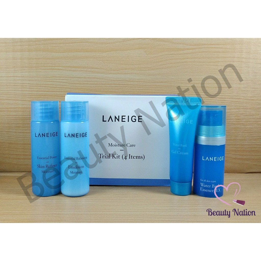 Original Laneige Moisture Care Kit 4in1 Paket Set Refiner A Balancing Essence Cream Murah Asli Shopee Indonesia