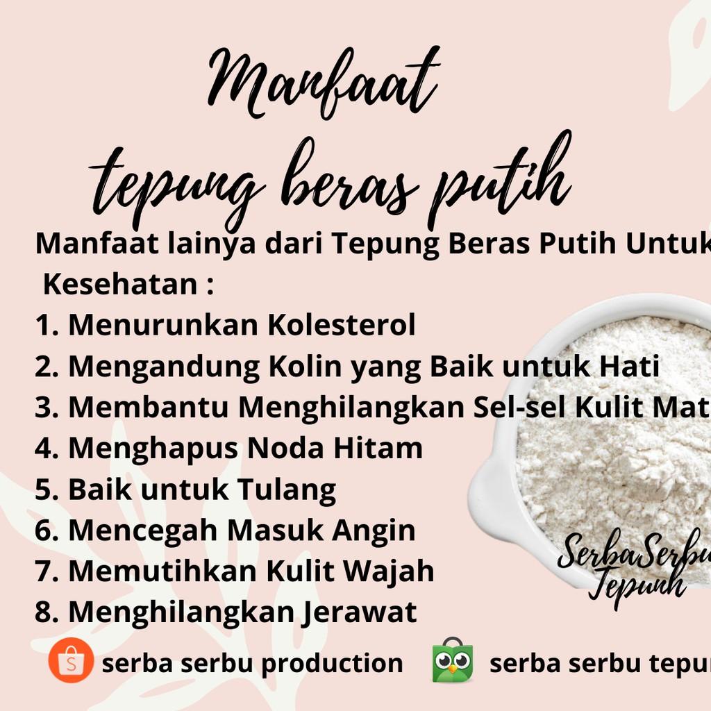 Tepung Beras Putih 1 Kg Penurun Kolesterol Tepung Mpasi Organik Tepung Free Gluten Shopee Indonesia
