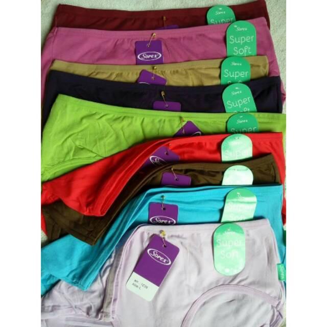 1 Lusin CD sorex atau celana dalam sorex 1239 Super Soft Murah ... db5f775d08