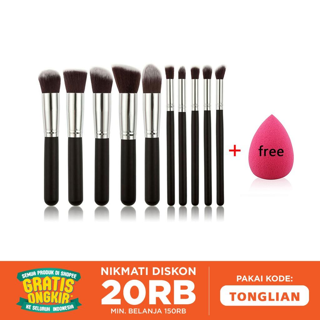 Jbs New York Kuas Makeup Brush 4 Set Make Up K070 Shopee Paket K 070 Egg Spon Telur Indonesia