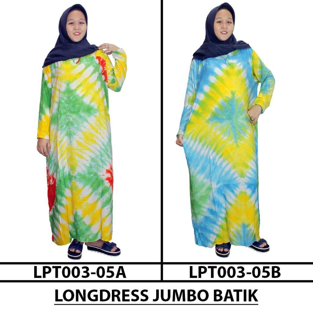 Longdress Jumbo Lengan Panjang Batik Print Lpt003 04c Daftar Harga Daster Jual Longdres Kancing Bumil Busui 04z Berkualitas Shopee Indonesia