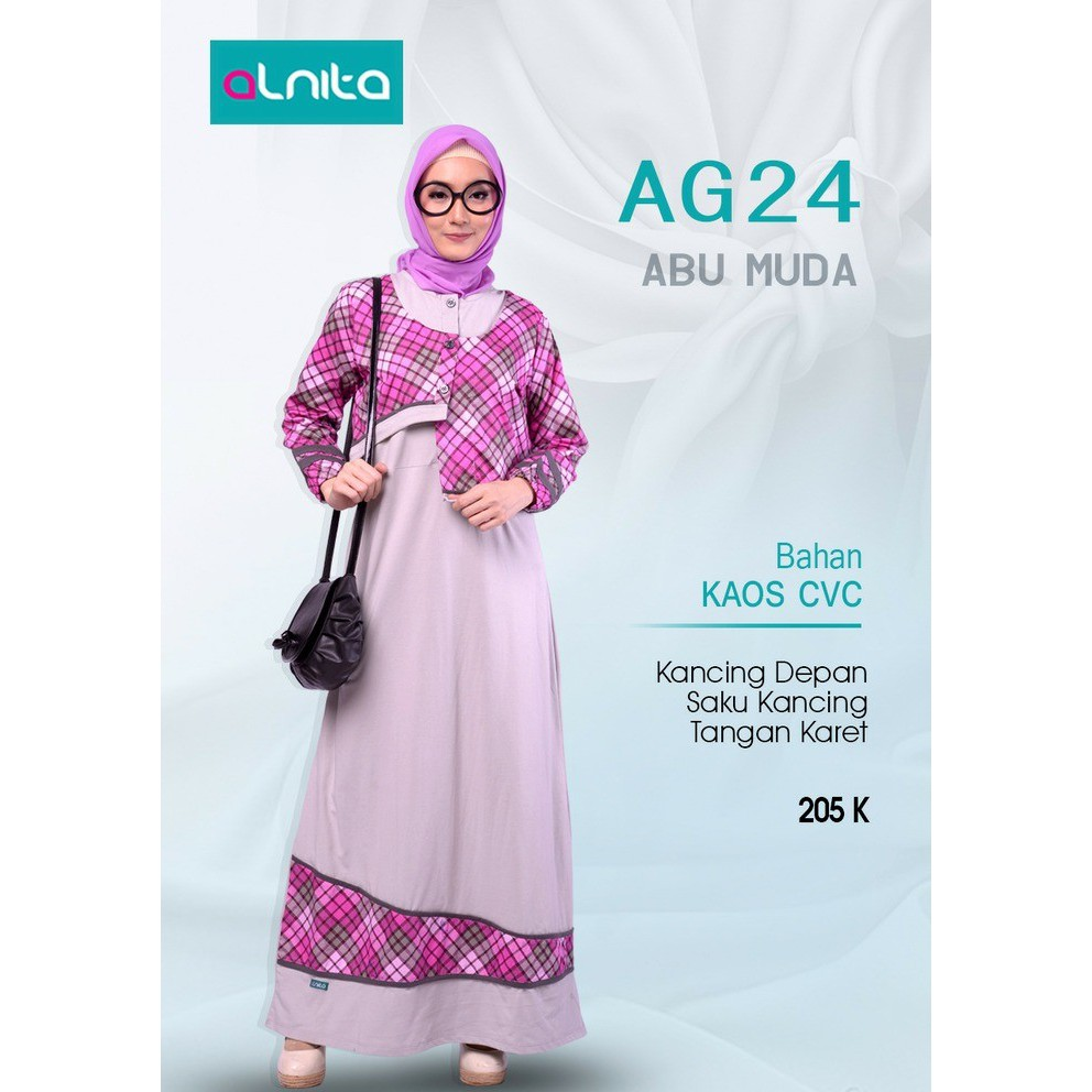 Fashion Alnita Daftar Harga November 2018 Mukena Tatuis Tiara 330 Peach