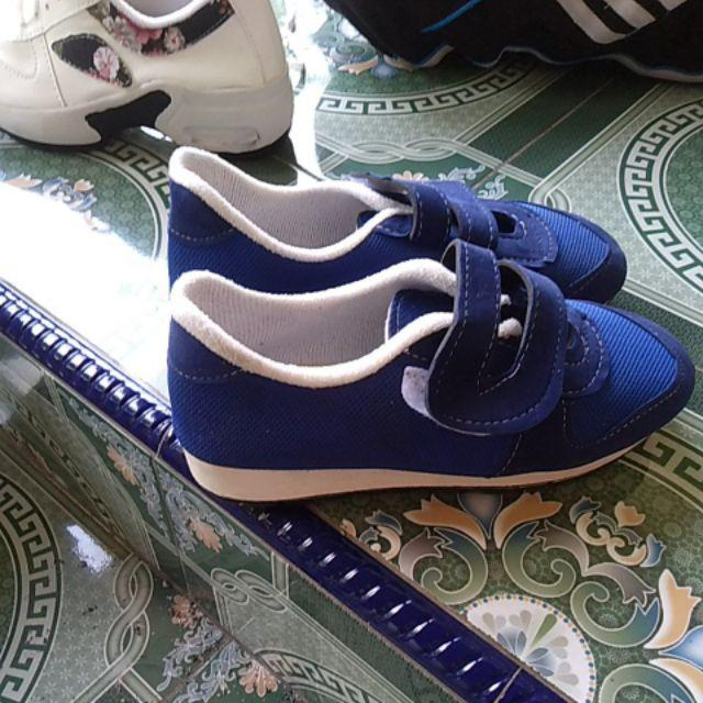 Sepatu Wanita Tali Sneaker Fashion Kets Poxing Beier Biru