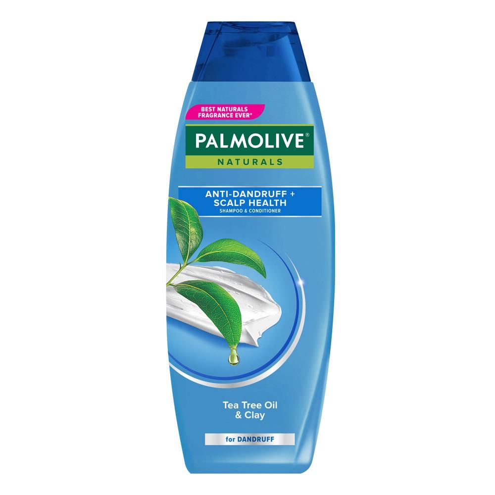 Palmolive Naturals Shampoo & Conditioner Anti Dandruff 180ml - Shampo Kondisioner-1