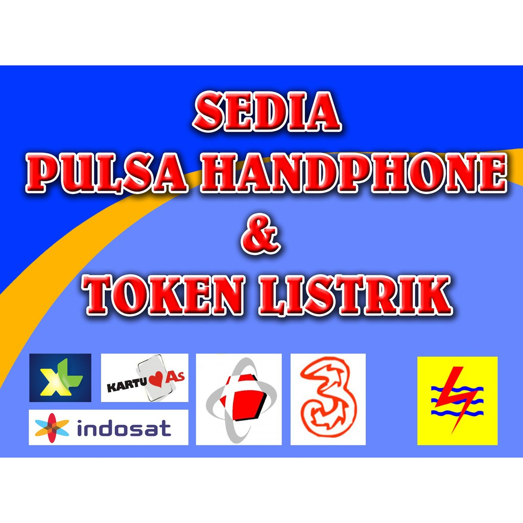Pulsa All Operator Token Listrik Cari Agen Yg Ingin Kerjasama Menjualkan Shopee Indonesia