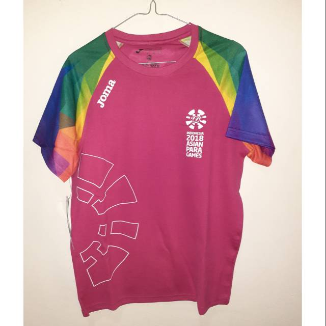 Kaos Volunteer Asian Para Games 2018 (Volunteer Asian Para Games 2018's T-shirt) LIMITED EDITION
