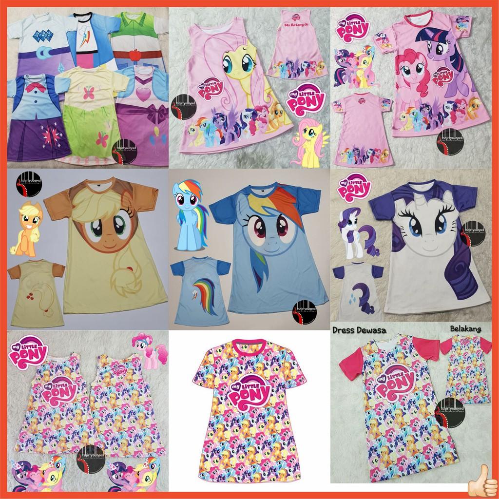 - Dress Anak Dewasa My Little Pony Equestria Girls Pinkie Pie