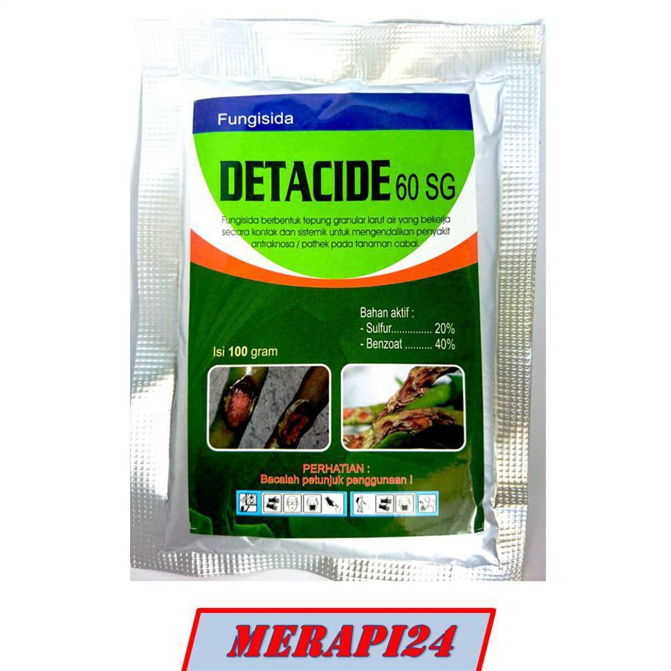 Fungisida DETACIDE 60SG 100Gram