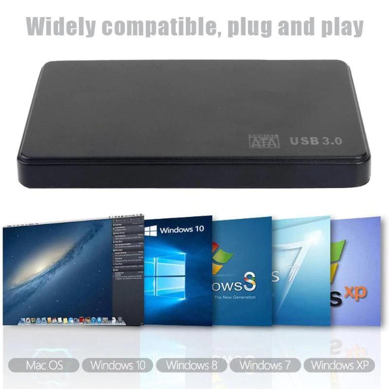 """NEW Black 2.5/"""" 250 GB 250gb Portable External Hard Drive HDD USB 2.0"""