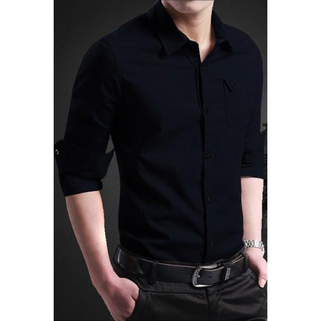 Ready Stock - Kemeja Pria Slim Fit Lengan Pendek Winston Terbaru | Shopee Indonesia