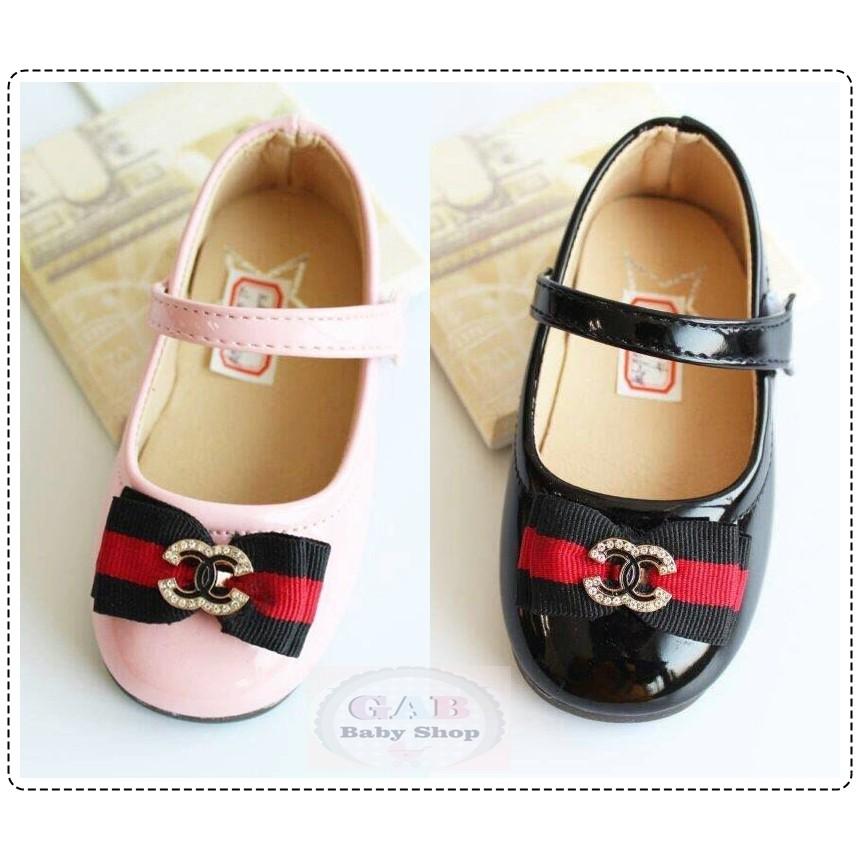 Sepatu Pesta Anak Perempuan Gucci Import  7bddec3e75