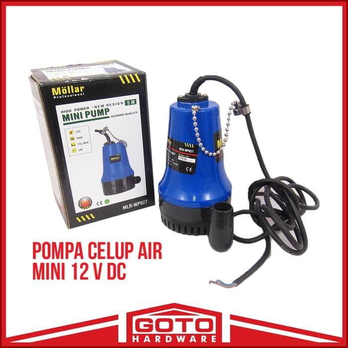New Pompa Celup Air Mini 12 V Dc 12v Submersible Pump Aquarium Volt Shopee Indonesia