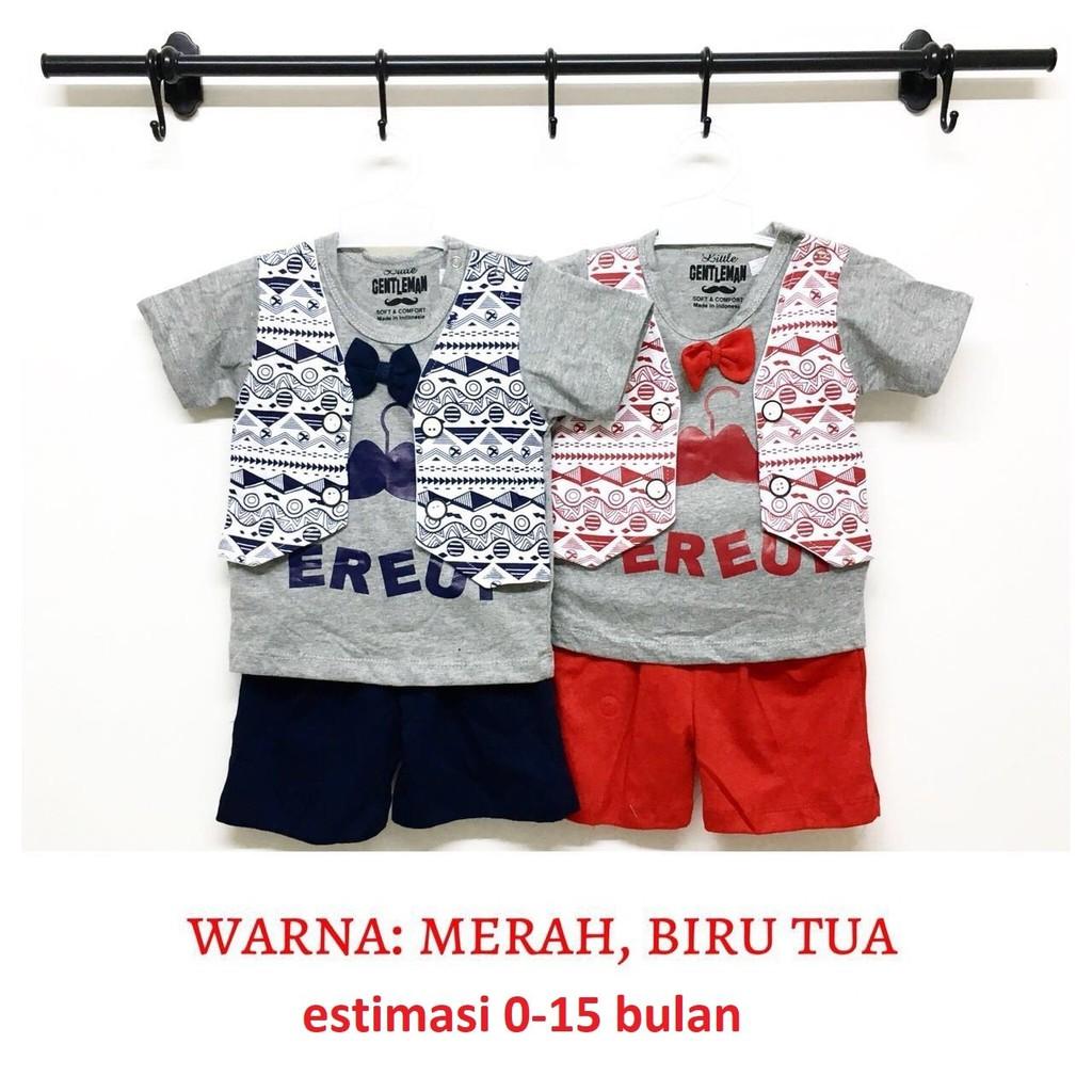 Dapatkan Harga Batik Bayi Anak Celana Pakaian Laki Baju Setelan Joger Diskon Shopee Indonesia