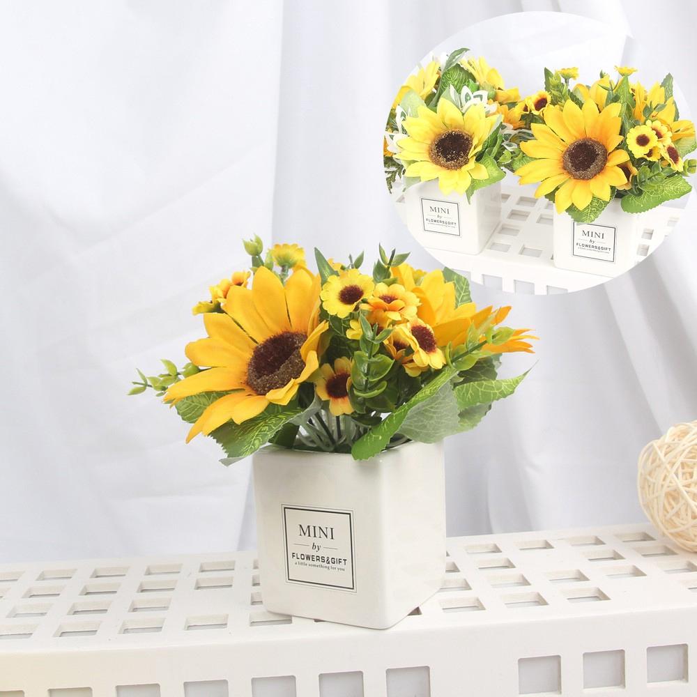 fake flower Bunga Matahari Buatan