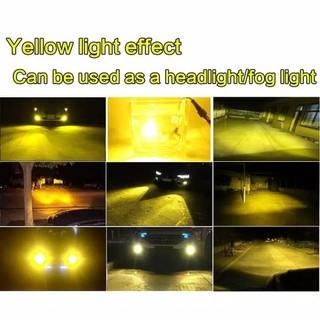 Lampu Led Foglamp Headlamp C6 Kuning 3000k H1 H3 H4 H7 H8 H9 H11 Hb3 Hb4 Hb5 Hb1 1pasang Shopee Indonesia
