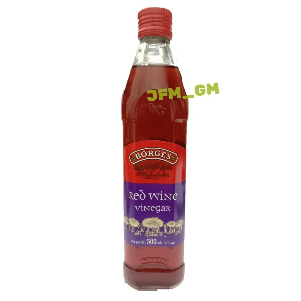 Borges Red Wine Vinegar 500ml Shopee Indonesia