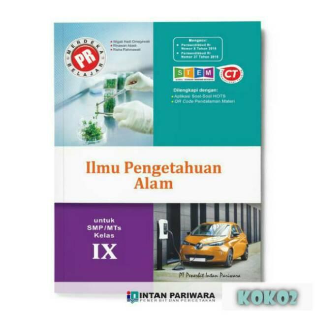 Buku Pr Ipa Smp Kelas 9 Lks Intan Pariwara 2020 2021 Shopee Indonesia