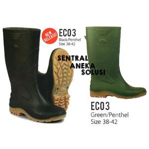 ap boots terra eco 3 hitam   hijau sol penthel sepatu boot tinggi ... 1f7b6c0de0
