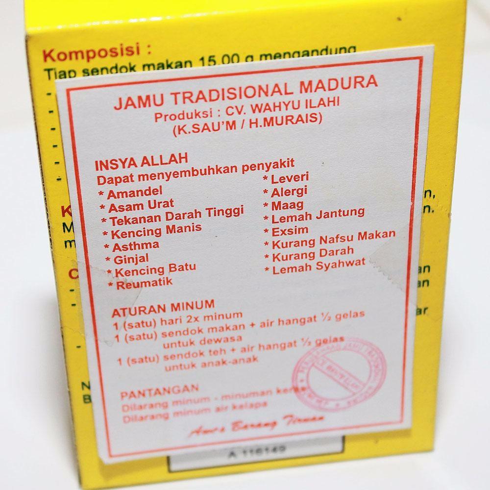 Jamu Galian Singset Ramuan Madura Tradisional Herbal Wahyu Sejati Kaleng Rasa Kopi Kemasan B Isi 100 Pil Pj Sumber Madu Shopee Indonesia