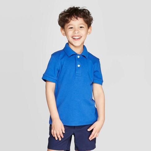 The Childrens Place Boys Short Sleeve Uniform Polo