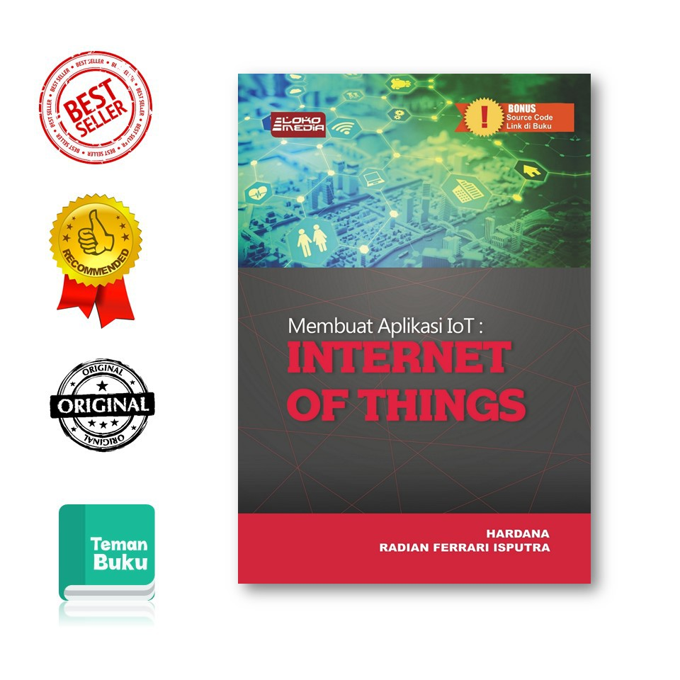 BARU! MEMBUAT APLIKASI IOT: INTERNET OF THINGS - BUKU KOMPUTER ...