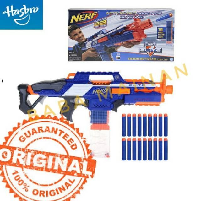 Colors Vary New Nerf Cs 18 N Strike Elite Rapidstrike Strike Boys Kids Gun Toy