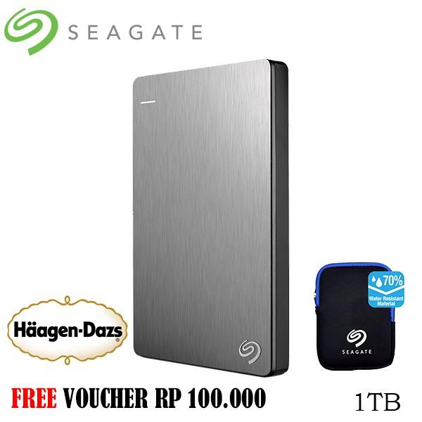 Seagate Expansion New 2.5 Inch USB 3.0 1.5TB - Hitam + Gratis Go Green Bag