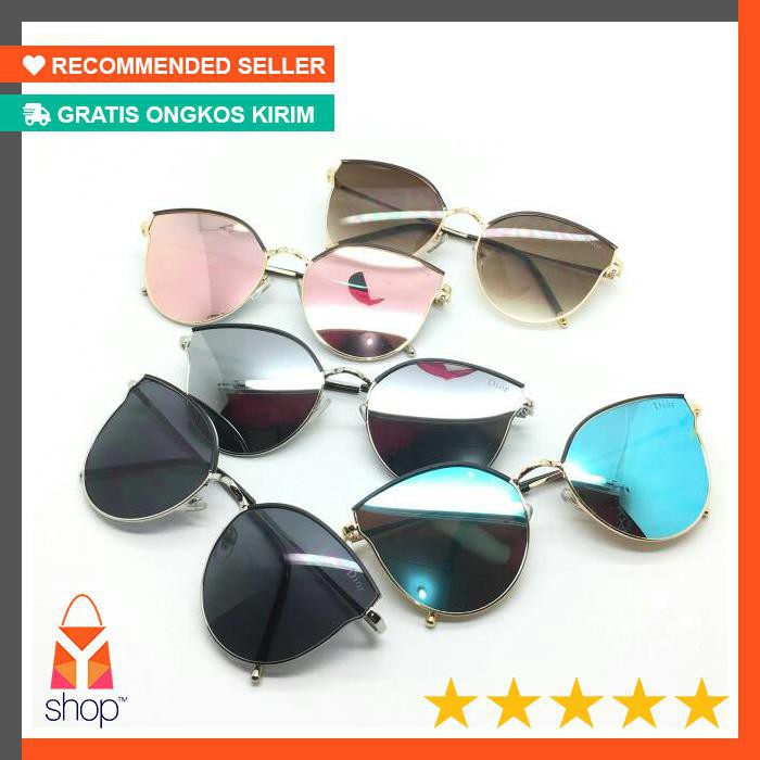 8 warna lv 17071 new PROMO Kacamata fashion wanita cewek branded best  seller murah berkualitas super  998578a704