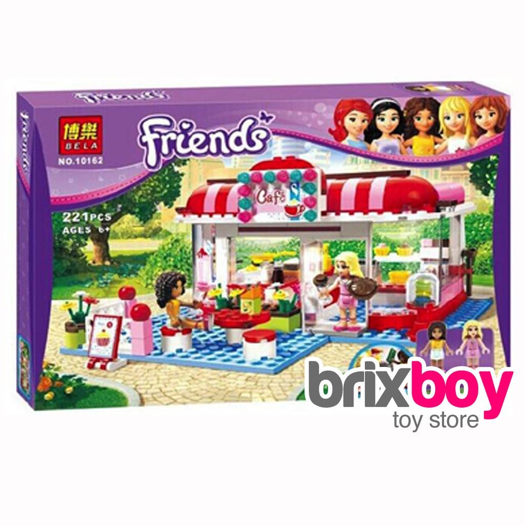 Lego Friends Bela 10162 Friends Heartlake City Cafe 221pcs 3061