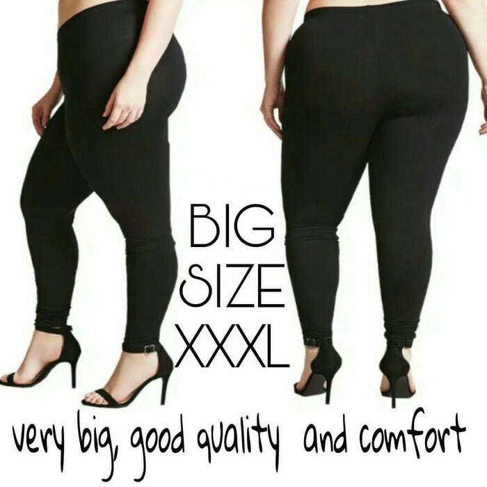 Celana Legging Panjang Wanita Super Jumbo Lebih Tebal Lebih Panjang Fit Xxxxxl Shopee Indonesia