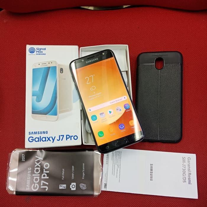 [Handphone Second] Samsung galaxy J7 pro ram 3/32gb mantap - Hitam HP Bekas