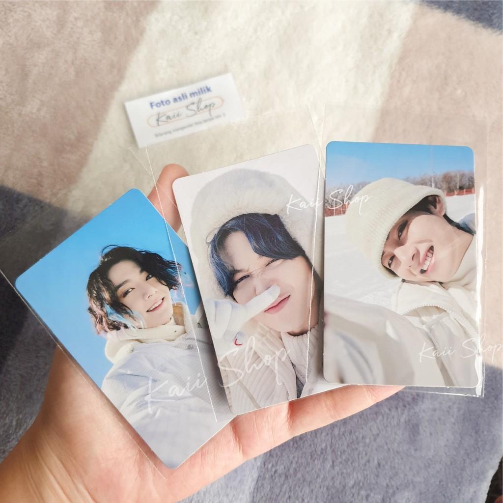Photocard PC Taehyung V Jungkook JK Jimin Winter Package Winpack BTS 2021