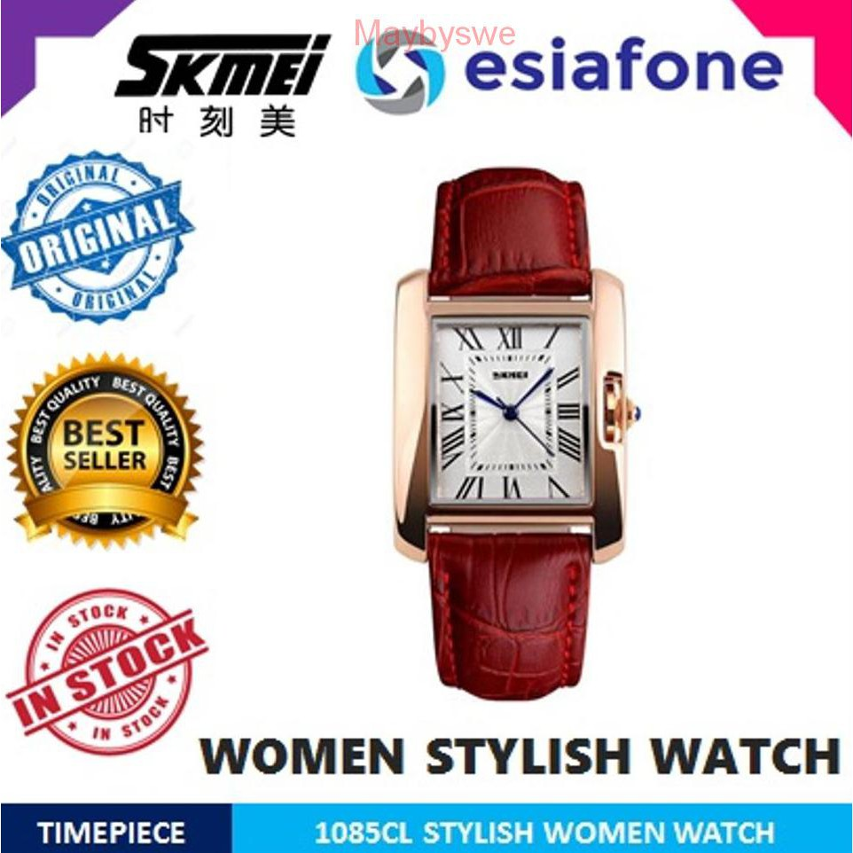 Fossil Fs4813 Grant Chronograph Black Dial Brown Leather Strap Watch Es4000 Jam Tangan Wanita Original Shopee Indonesia