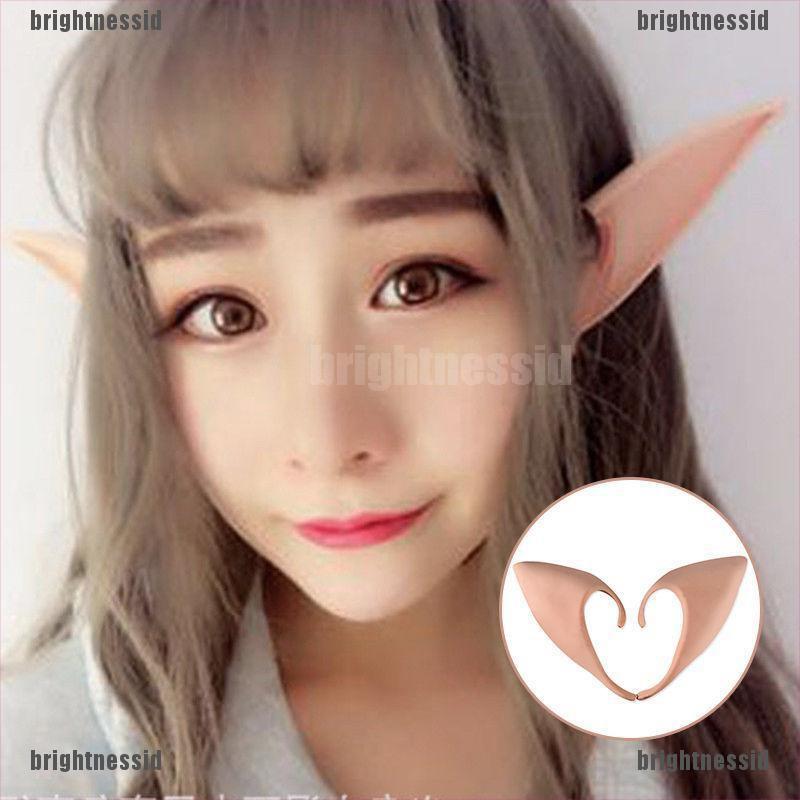 Elf Fairy Hobbit Vulcan Spock Alien Cosplay LARP Halloween Costume Ear Tips DI