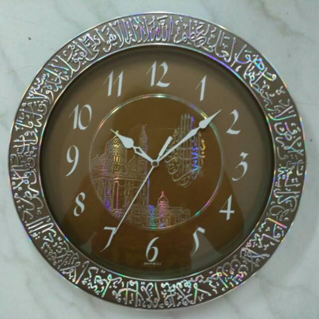 Jam Dinding Pioneer - Nuansa Islami Kaligrafi Ukir 3D Kabah (Rainbow  Colour)  c92544e2d0