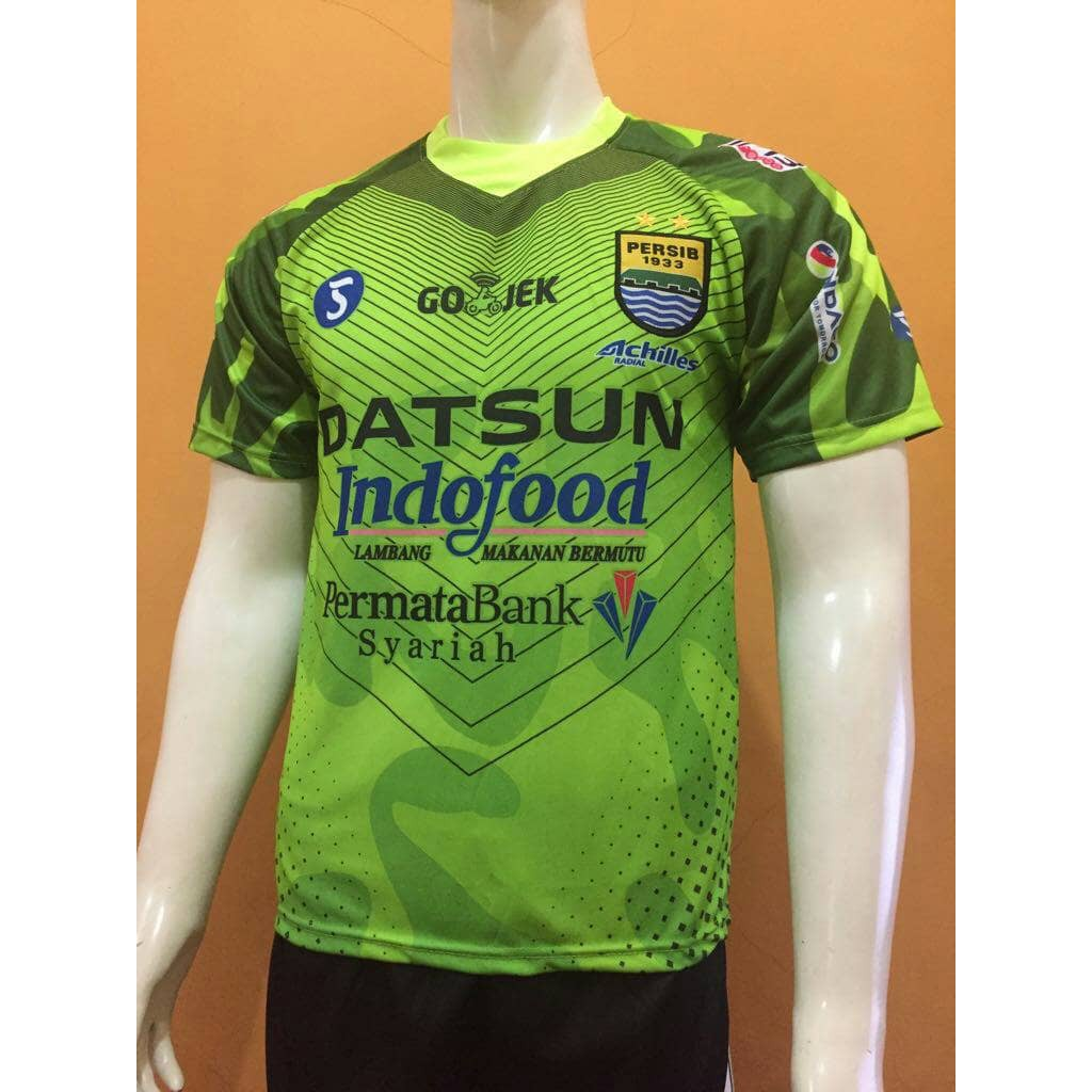 Jersey Persib Goalkeeper Gk Home 2017 2018 Grade Ori Shopee Indonesia Baju Bola Manchester United Mu Away 2019