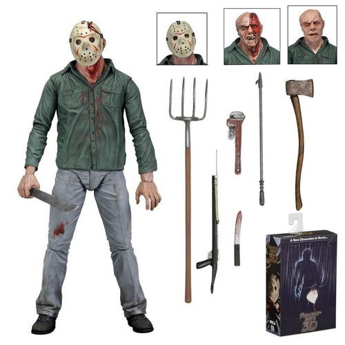 """Ultimate Part 6 Jason Voorhees NECA Friday the 13th 7"""" Scale Action Figure"""