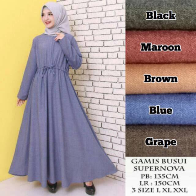 Belanja Online Dress Muslim - Fashion Muslim  6ee6cb0a20
